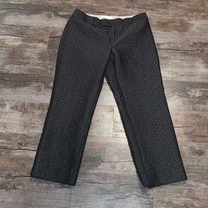 Banana Republic Size 8 Black Pants